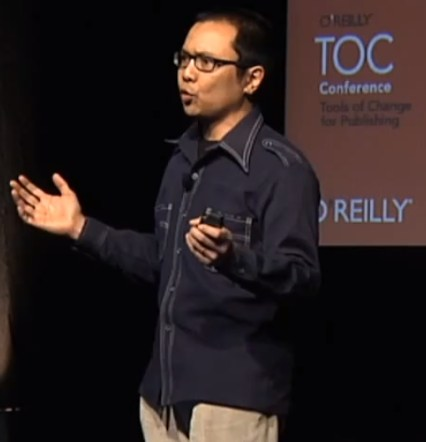 Ben Lorica on stage at TOC 2011 in NYC